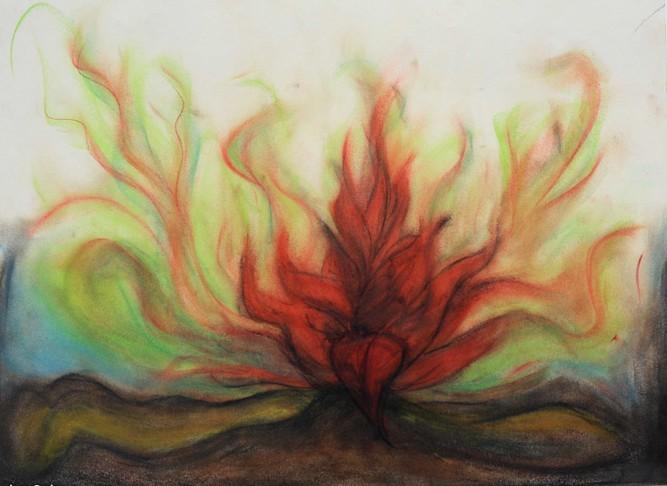 Rebirth, 2011, Alexander Salvesen, Drawing,
