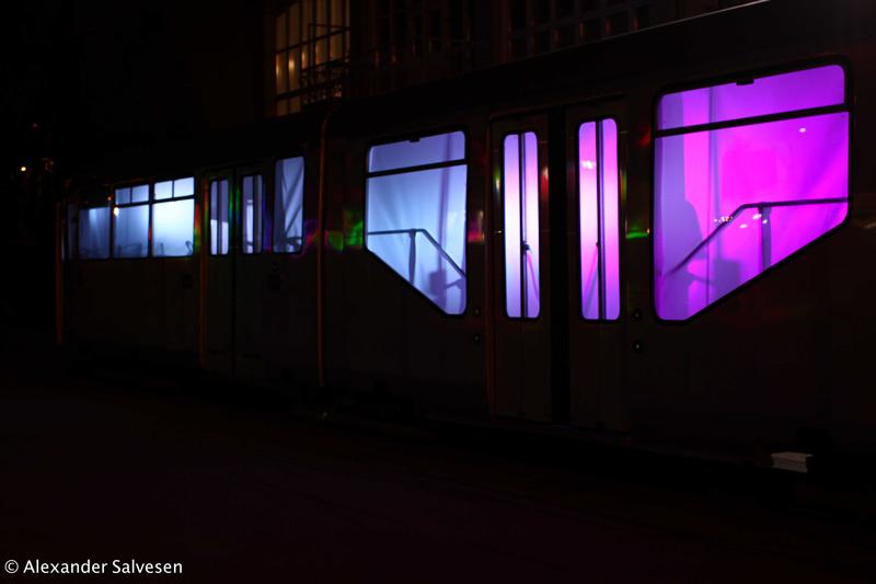 Riikka Karjalainen, Alexander Salvesen, Lux Helsinki, Lux Ratikka, 2014, Light Art, Installation, HKL,