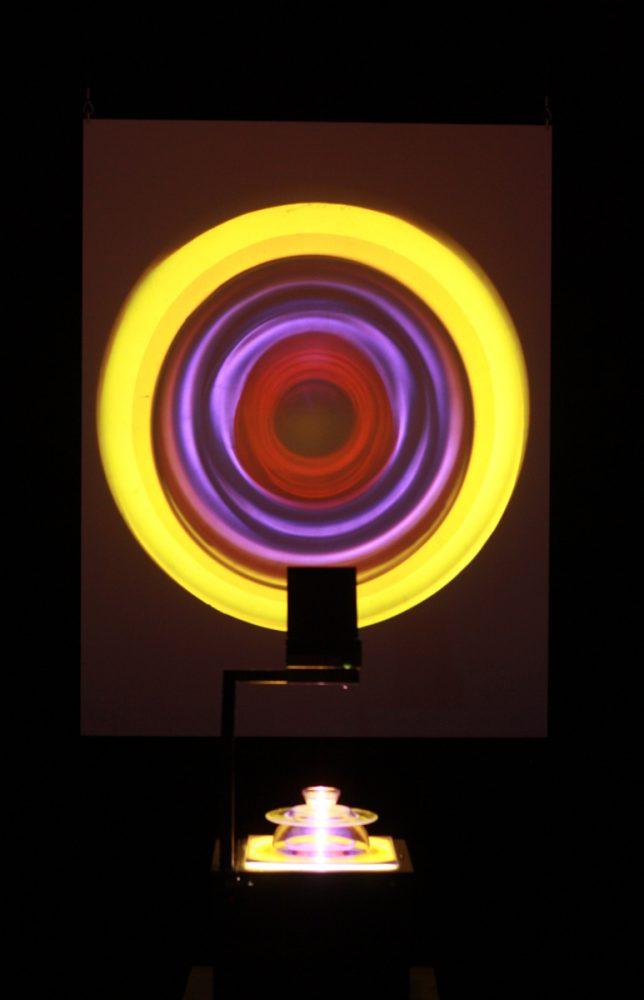 Alexander Salvesen, Black Hole, Light, Art, Installation