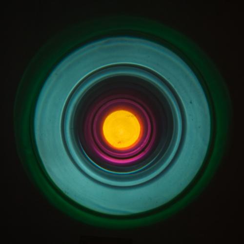Alexander Salvesen, Attractor I-II, Attractor 1-2, Light, Art, Installation, Exhibition, FLASH , Voipaalan Taidekeskus, Helsinki, Valotaide, Colour,